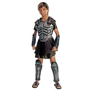Savaþçý Perseus Çocuk Kostüm Lüks 8-10 Yaþ