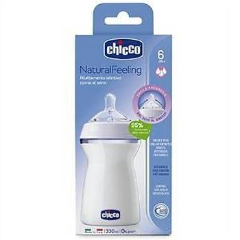Chicco NaturalFeeling Biberon 6 Ay+ 330 ML