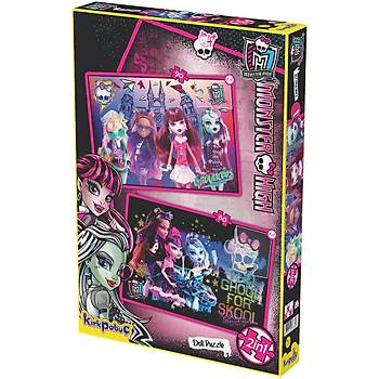 Kýrkpapuç Monster High Doll Puzzle Çocuk Puzzle