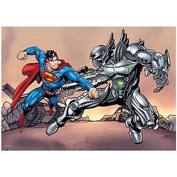 Ks Puzzle Superman Çocuk Puzzle 100 Parça
