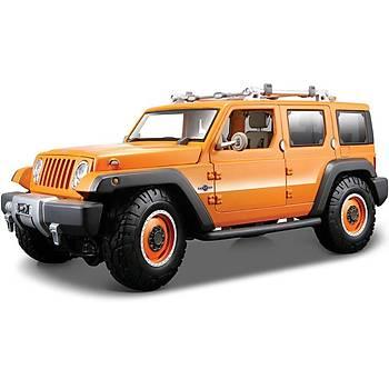 Maisto Jeep Rescue Concept 1:18 Model Araba P/E Turuncu