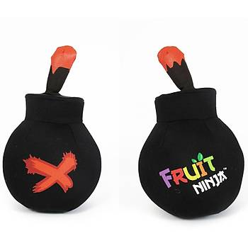 Fruit Ninja Sesli Peluþ Bomba 12 cm