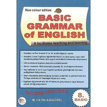 Basic Grammar of English+Answer Key M. Fatih Adýgüzel Pelikan Yayýncýlýk