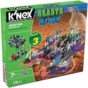K'Nex Insectra Yapým Seti Beasts Alive Knex 34481