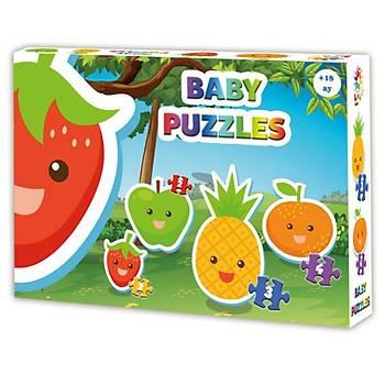 Laço Kids Baby Puzzle Meyveler