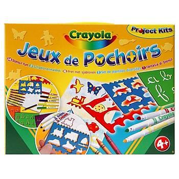 Crayola Þablon Ve Boya Seti