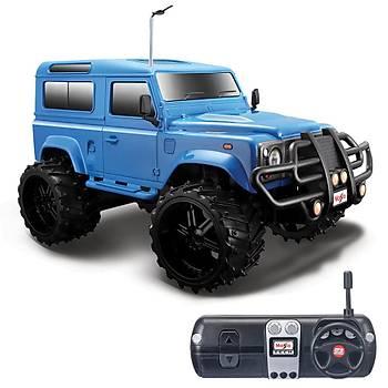 Maisto Tech 1:16 Off-Road Land Rover Defender U/K Araba Lacivert