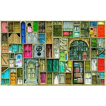 Pintoo 1000 Parça Puzzle Kapalý Kapýlar
