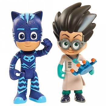 PJ Maskeliler Cat Boy ve Romeo Ýkili Figür