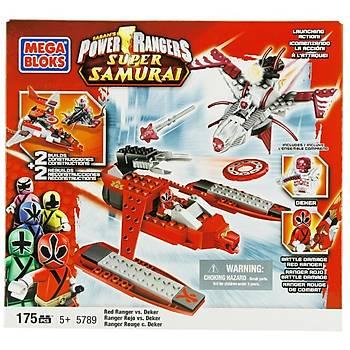 Mega Bloks Power Rangers Ss Red Ranger Vs Deker