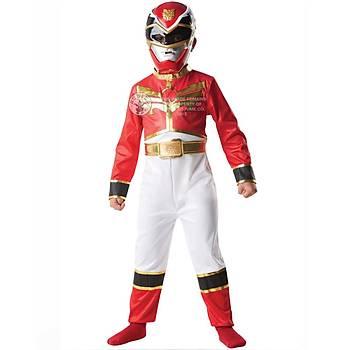 Power Rangers Red Ranger Klasik Çocuk Kostümü 7-8 Yaþ