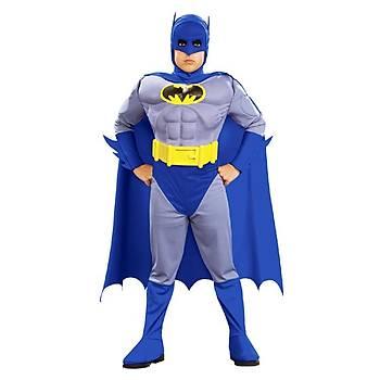 Batman Çocuk Kostüm Lüks 12-14 Yaþ