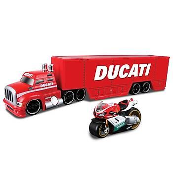 Maisto Ducati Týr Ve Motorsiklet Seti