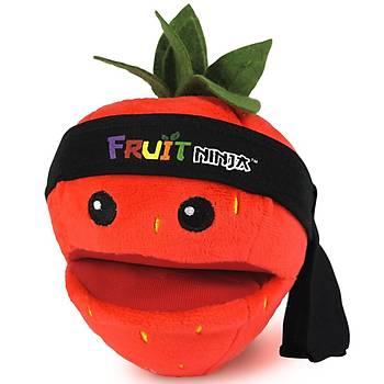 Fruit Ninja Sesli Peluþ Çilek 12 cm
