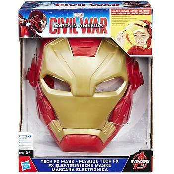 Iron Man FX Maske Sesli Iþýklý
