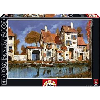 Educa 2000 Parça Puzzle La Cascina Sul Lago