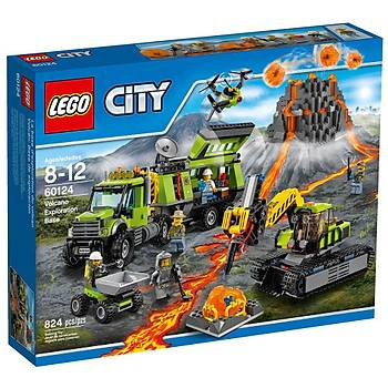 Lego City Volcano Exp Base 60124
