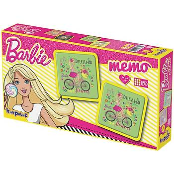 Kýrkpapuç Barbie Memo Çocuk Puzzle