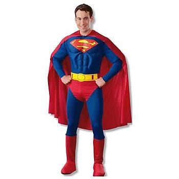 Superman Yetiþkin Kostüm Small