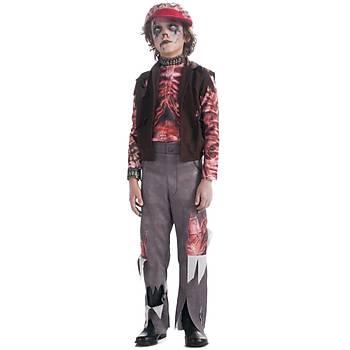 Zomboy Erkek Çocuk Kostümü 4-6 Yaþ