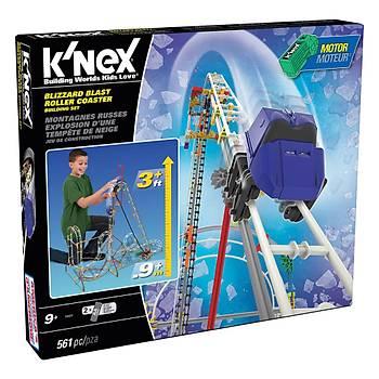 K'Nex Blizzard Blast Roller Coaster Seti (Motorlu) Thrill Rides K