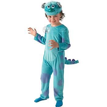 Monster Sully Çocuk Kostüm Lüks 3-4 Yaþ