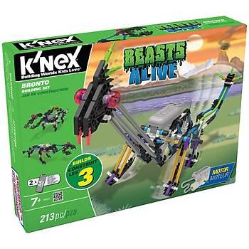 K'Nex Bronto Yapým Seti (Motorlu) Beasts Alive Knex 34483