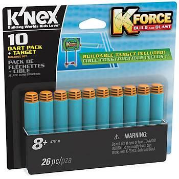 K'Nex K-Force Dart & 10 Mermi Seti Knex 47518