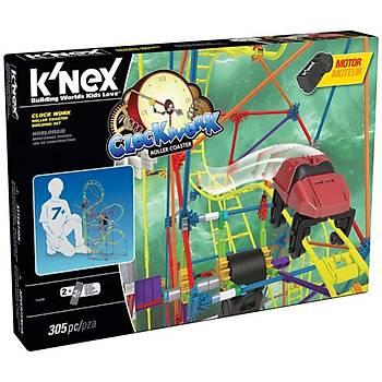 K'Nex Clock Work Roller Coaster Seti (Motorlu) Thrill Rides Knex