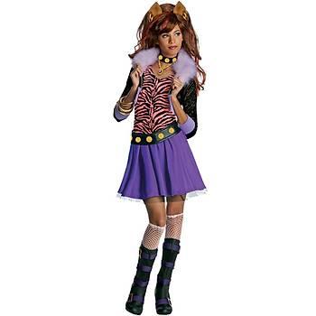 Monster High Clawdeen Wolf Çocuk Kostüm 12-14 Yaþ
