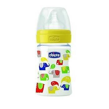 Chicco %0 BPA PP Biberon Silikon Emzikli Normal Akýþ 150 ml