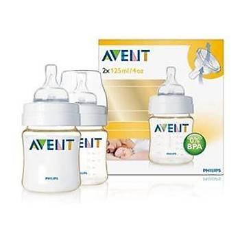 Avent 0% BPA Pes Biberon 125Ml Ýkili