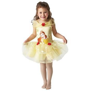 Prenses Belle Balerin Çocuk Kostüm 2-3 Yaþ