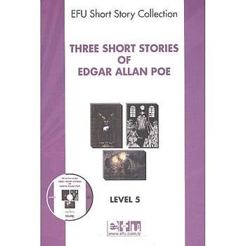 Level-5 Three Short Stories of Edgar Allan Poe  Atlas Görsel Eðitim Ürünleri