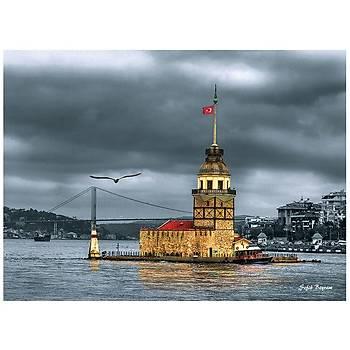 Anatolian 1000 Parça Puzzle Kýz Kulesi Nostalji