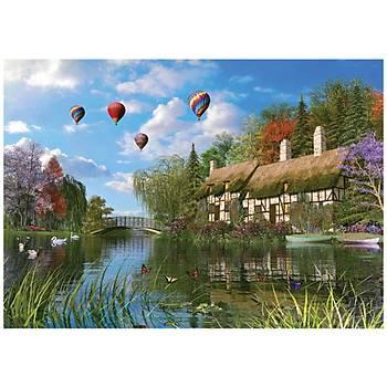 KS Puzzle Old River Cottage 1000 Parça