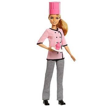 Barbie Kariyer Bebekleri Aþçý FMT47