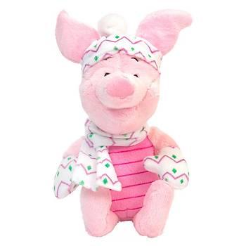 Piglet Atký ve Bereli Peluþ Oyuncak 28 cm