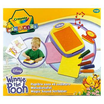 Crayola Winnie The Pooh Kalýplý Resim Tahtasý