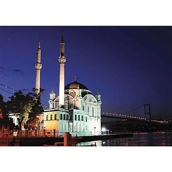 Anatolian 1000 Parça Neon Puzzle Ortaköy Camii