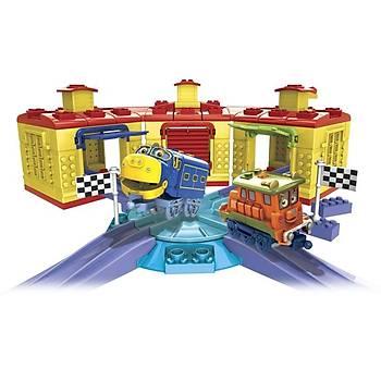 Mega Bloks Chuggington RoundHouse Racing Oyun Seti