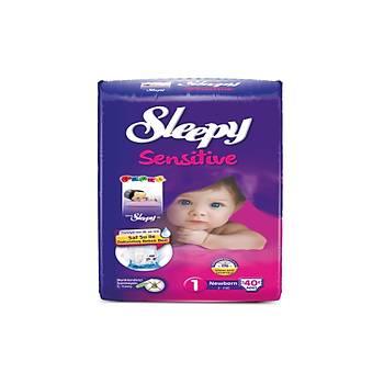 Sleepy Sensitive Newborn Pepee 40 Adet (2-5 Kg) No: 1