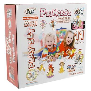 Akar Jagu Konuþan Oyuncak Mini Play Set Prenses