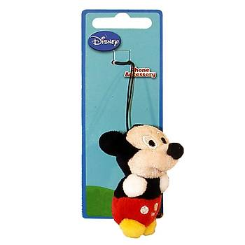Mickey Mouse Peluþ Cep Telefonu Aksesuarý