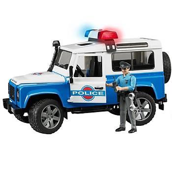 Bruder Land Rover Polis Aracý ve Memur