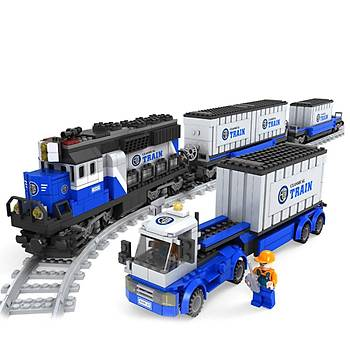Ausini 1008 Parça Tren Seti 25111