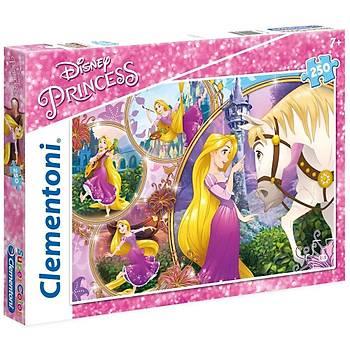 Clementoni Disney Princess Tangled 250 Parça Çocuk Puzzle