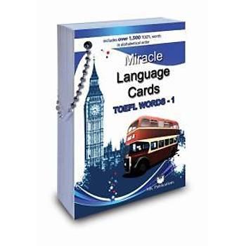 Miracle Language Cards (TOEFL Words-1) Kolektif - MK Publicationþ MK Publications