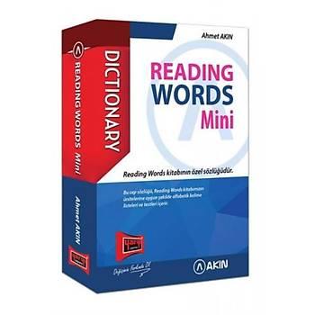 Yargý-Akýn YDS Dictionary Reading Words Mini Cep Kitabý-YENÝ Ahmet Akýn Yargý Yayýnevi