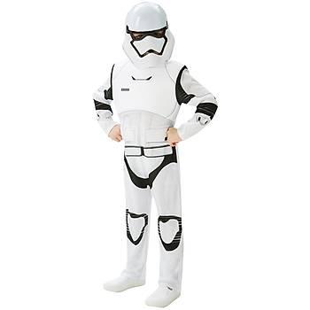 Star Wars Episode 7 Stormtrooper Kostüm Lüks 7-8 Yaþ